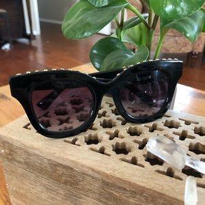 FREE PEOPLE Studded Sunglasses